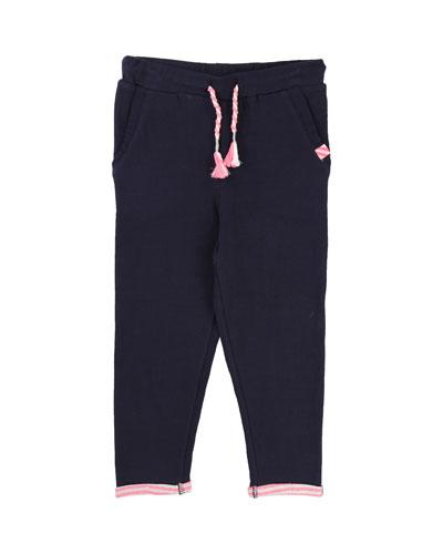Jersey Tubic Sweatpants, Size 4-8