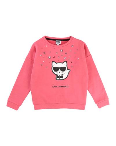Cool Choupette Sweatshirt, Size 12-16