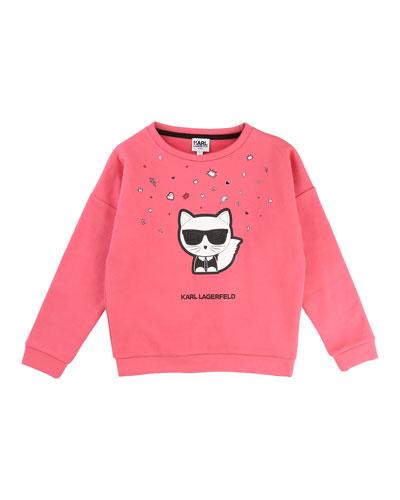 Cool Choupette Sweatshirt, Size 6-10