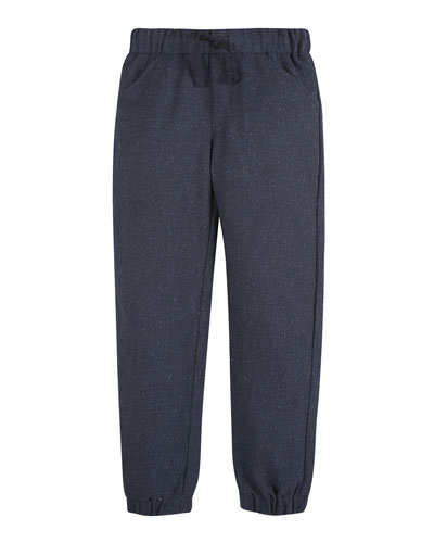 Suiting Jogger Pants, Size 2-7