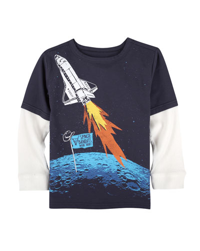 Space Bandits Graphic T-Shirt, Size 3-24 Months