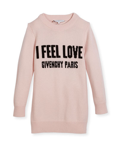 I Feel Love Knit Dress, Size 4-5