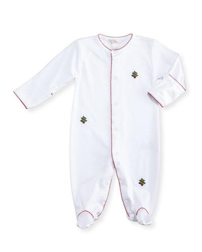 Holiday Cheer Pima Footie Pajamas, Size Newborn-9M
