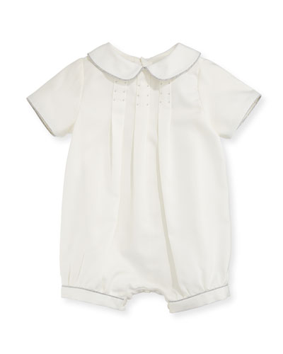Pleated Bubble Playsuit, Size 3-18 Months