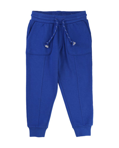 Sweatpants w/ Front & Back Pockets, Size 4-8