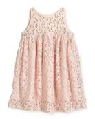 Lace Babydoll Dress, Size 4-7