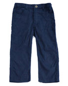 Corduroy Straight-Leg Trousers, Size 2-8