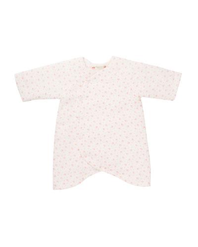 Floral Wrap Shirt, Size 1-6 Months