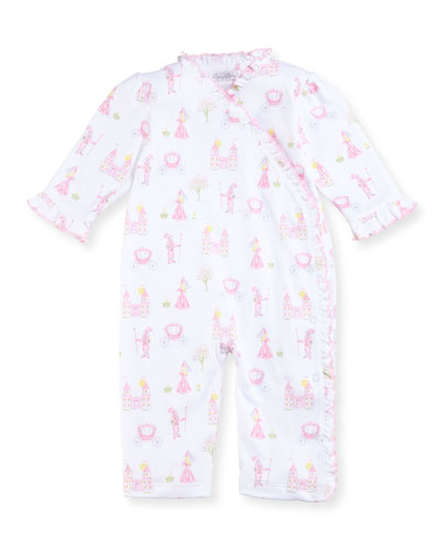 Enchanted Princess Pima Coverall, Size 9-24 Months