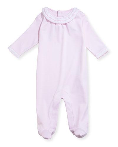 Fall Homecoming Footie Pajamas, Size Newborn-9M