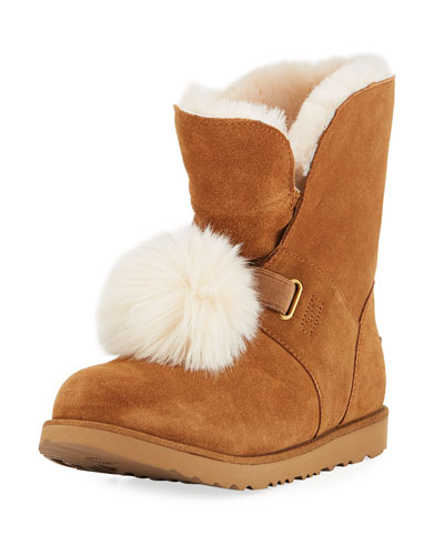 Isley Waterproof Pompom Boot, Youth