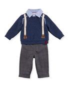 Sweater Layette Set, Size 6-24 Months
