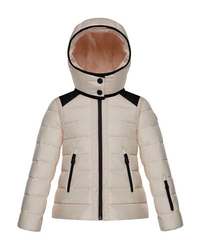 Emeraude Technical Ski Jacket, Size 4-6