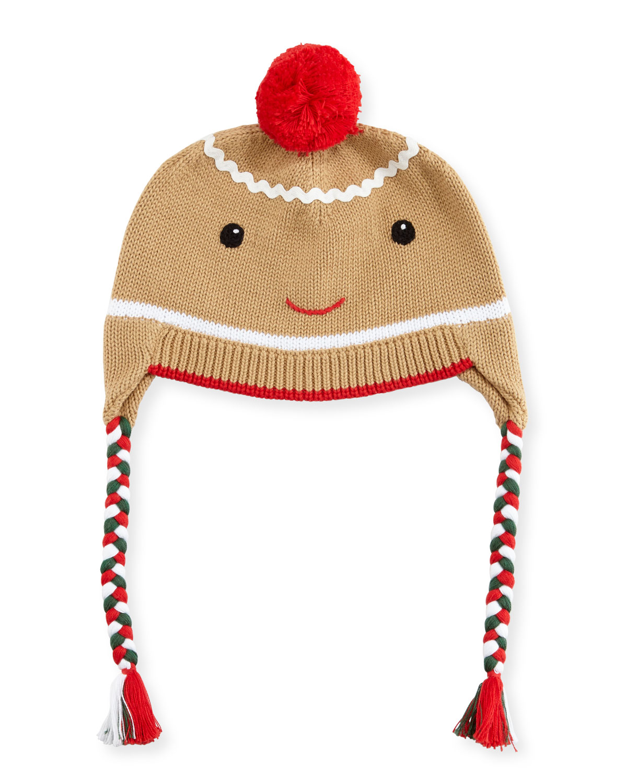Boys Gingerman Knit Hat