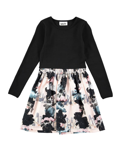Credence Long-Sleeve Dream Dress, Size 2T-12