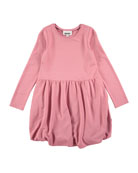 Clementine Long-Sleeve Bubble Dress, Size 3T-12