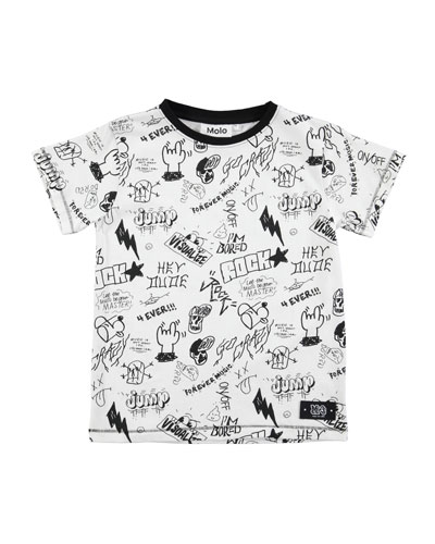 Ragnij Short-Sleeve Graphic T-Shirt, Size 4-12