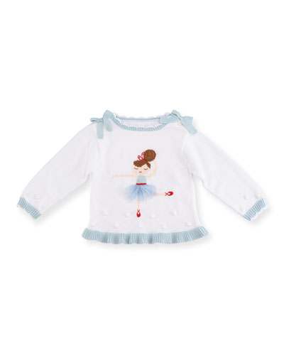 Nutcracker Clara Knit Sweater, Size 2T-7