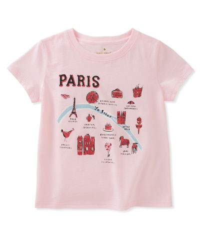 paris map tee, size 7-14