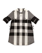 Darielle Check Shirtdress, Sizes 4-14