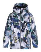 Castor Skateboard Hooded Jacket, Size 4-10