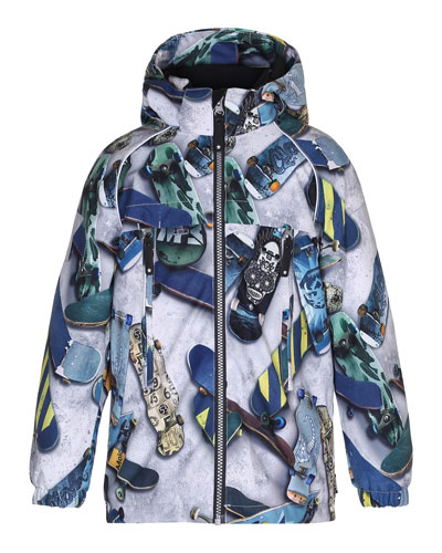Castor Skateboard Hooded Jacket, Size 4-10