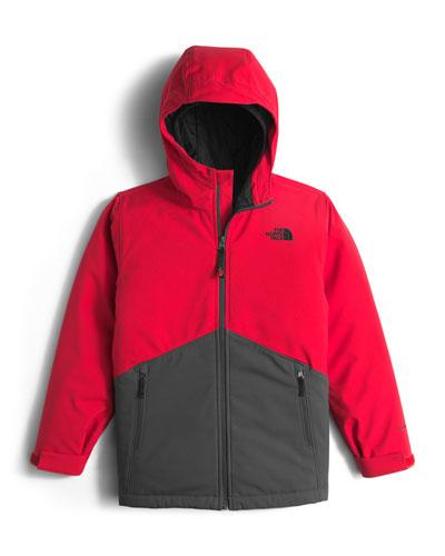 Apex Elevation Colorblock Jacket, Red/Black, Size XXS-XL
