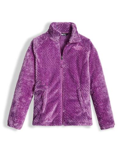Osolita Fleece Jacket, Purple, Size XXS-XL