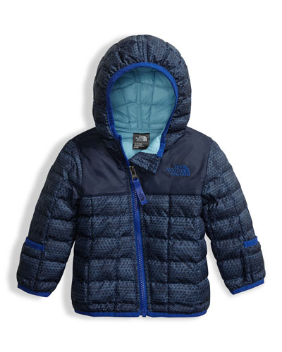 Boys' ThermoBall Full-Zip Hooded Jacket, Blue, Size 3-24 Months