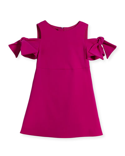 Berry Cady Mod Tie Mini Dress, Size 4-7