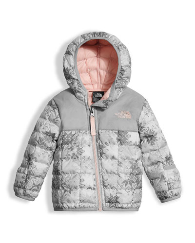 The North Face ThermoBall Hooded Jacket, White, Size 3 - 24 Months