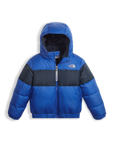 Boys' Moondoggy 2.0 Down Quilted Jacket, Blue, Size 2-4T