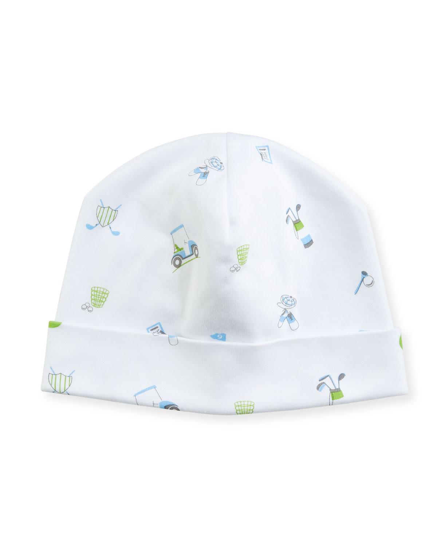 Daddys Caddy Pima Baby Hat Blue