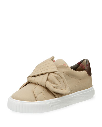 Westford Canvas Sneaker w/ Knot Detail, Toddler/Youth Sizes 10T-3Y