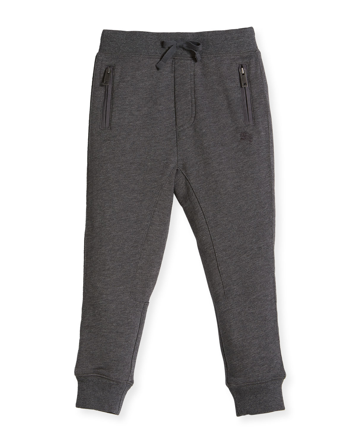 Phill Cotton Track Pants, Charcoal, Size 4-14