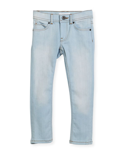 Faded Skinny Jeans, Size 4-14