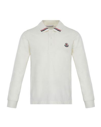 Maglia Long-Sleeve Polo, Size 4-6
