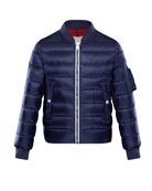 Aiden Quilted Bomber Jacket, Size 8-14
