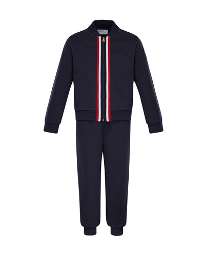 Zip-Up Cardigan w/ Joggers, Size 4-6