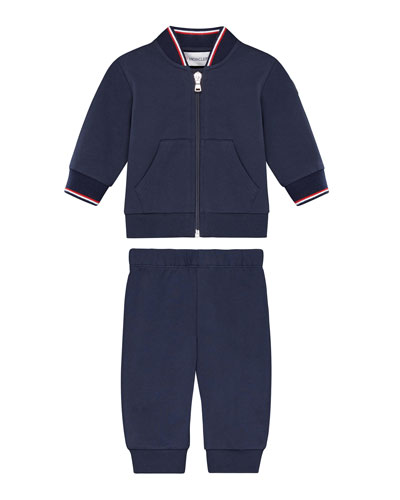Zip-Up Cardigan w/ Joggers, Size 12M-3Y