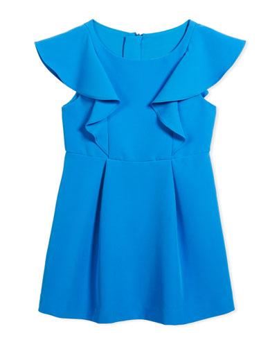 Cady Ruffle Dress, Size 8-16