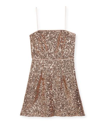 Laci Sequin Mini Dress, Size 8-16