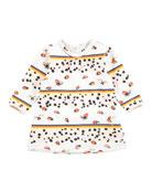 Caroline Be My Ladybird Printed Dress, Size 6-24 Months
