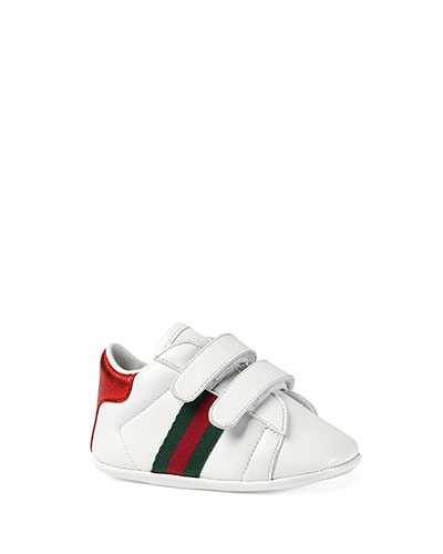 58778974cb4b Quick Look. Gucci · New Ace Leather Grip-Strap Sneaker