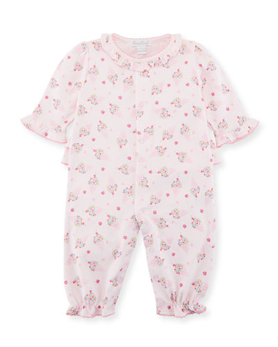 Cherry on Top Pima Coverall, Size 3-24 Months