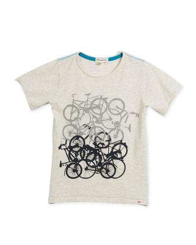 Bike Jam Graphic T-Shirt, Size 2-10