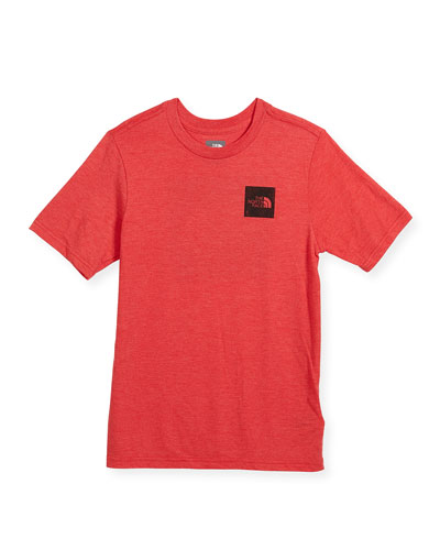 Short-Sleeve Tri-Blend Logo T-Shirt, Size XXS-XL