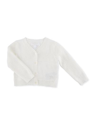 Francis Cotton Knit Cardigan, Size 3-24 Months