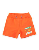 Logo Sweat Shorts, Size 12-24 Months