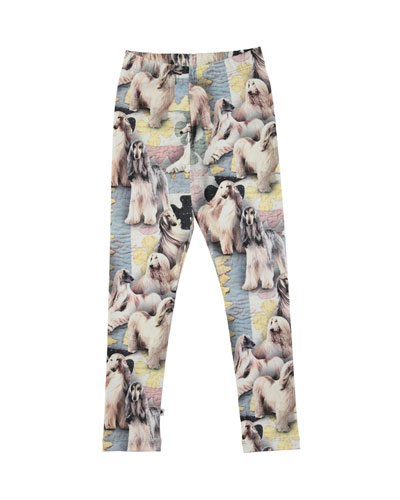 Niki Dogtastic Jersey Stretch Leggings, Size 2-10